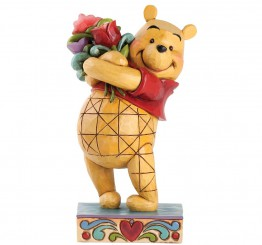 traditions winny the pooh with flowers